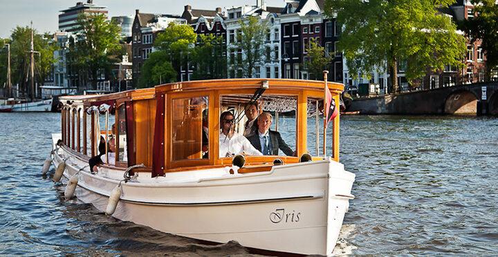 Salonboten bij Hermitage Amsterdam